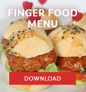 finger food menu catering cape town